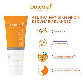Sữa rửa mặt dạng Gel Decumar Clean Advanced 50gr hoàn toàn mới kiểm soát nhờn mụn
