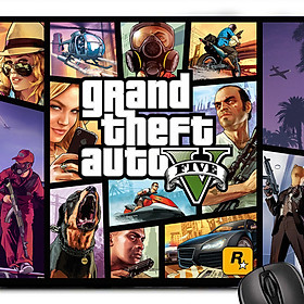 Lót chuột máy tính Grand Theft Auto 5 - Mouse pad  GTA5