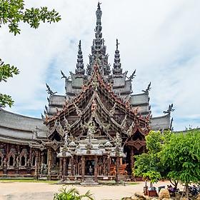 Hình đại diện sản phẩm Vé Tham Quan Ngôi Đền Chân Lý (The Sanctuary Of Truth) Ở Pattaya, Thái Lan