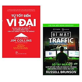 Combo 2 cuốn sách quản lí,kinh tế: Từ Tốt Đến Vĩ Đại + Traffic Secrets - Bí Mật Traffic