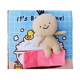 Đồ chơi - Sách vải It's Bath Time ( sách vải nhà tắm)