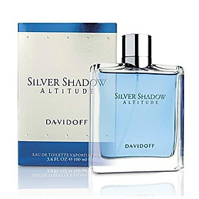 Davidoff Silver Shadow Altitude By Davidoff For Men. Eau De Toilette Spray 3.4-Ounces