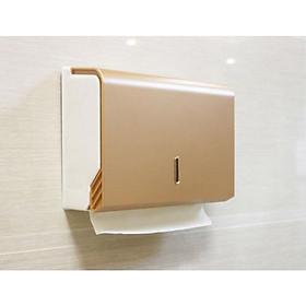 Hộp đựng giấy lau tay treo tường chất liệu nhựa YG-B728 Vàng