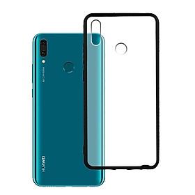 Ốp lưng Huawei Y9 2019 - Bề mặt nhám chống vân tay, lưng cứng, viền TPU dẻo - 02092 - Hàng Chính Hãng