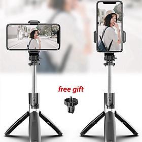 Gậy chụp hình selfie L02 có ba chân kéo dài linh hoạt điều khiển từ xa chuyên nghiệp chống rung lắc tiện dụng