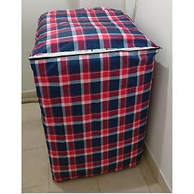 Áo trùm máy giặt cửa trên - vải dù - từ 9-10kg - màu ngẫu nhiên
