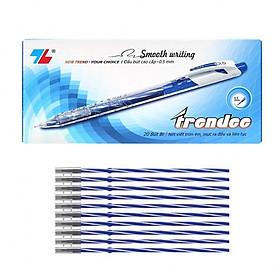 Combo Hộp 20 Bút và 20 ruột Bút Thiên Long TL-079 Treedee