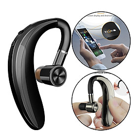 Bluetooth V5.0 Headset Wireless Headphones, Built-in Mic Noise Canceling, Hands-Free Bluetooth Headset, Wireless Headset for Driving