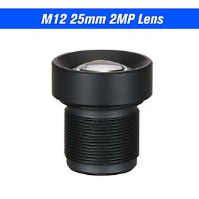 "1/3"" 25mm Lens CCTV Lens M12 Mount Lens Wide Viewing Angle 12 Degree 2.0 Megapixel Suitable for 1/3"" & 1/4"" CCTV"