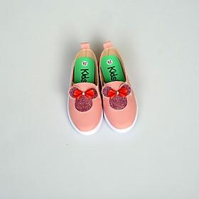 Giày lười học thể dục bé gái Mickey 2019 Kids Shoes