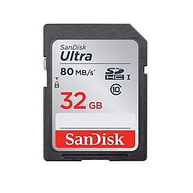 thẻ nhớ SD sandisk 32GB 80MB/s - Hàng nhập khẩu