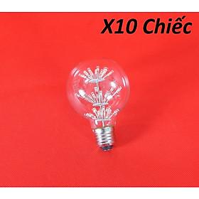 Bộ 10 bóng đèn led trang trí hình G80, đèn trang trí độc đáo hàng chính hãng
