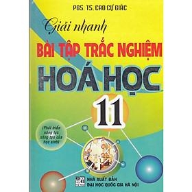 Giải Nhanh Bài Tập Hóa Học Trắc Nghiệm 11