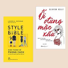 Combo Sách Làm Đẹp Hấp Dẫn: Ối Đừng Mặc Xấu – Oh No She Didn't + Kinh Thánh Về Phong Cách Ăn Mặc Để Thành Công Nơi Công Sở (Cẩm Nang Cho Bạn Gái Luôn Cuốn Hút)