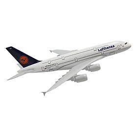 Mô Hình Máy Bay Trưng Bày Airbus A380 Lufthansa Everfly LT20 (20cm)
