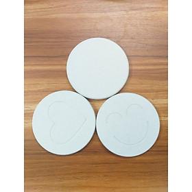 Miếng lót cốc hút ẩm Diatomite chất lượng cao (Cái)