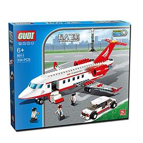 Xếp hình máy bay chở khách size lớn