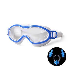 Kính Bơi Trẻ Em HA2101 Chống Nước  Chống Sương Mù Tốt Tầm Nhìn Cực Rộng + Tặng KemfBooj Nút Bịt Tai Và Kẹp Mũi  (Giao Màu Ngẫu Nhiên)