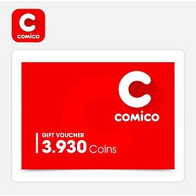 Comico - Phiếu Quà Tặng Comico 3930 Coins