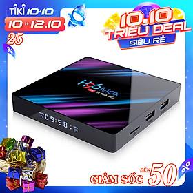 Android TV Box H96 max - RK3318, Ram 4GB, Bộ nhớ trong 32GB - Hàng nhập khẩu