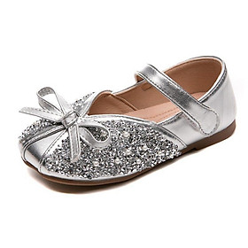 Giày công chúa phối đầm siêu xinh cho bé gái 1 - 12 tuổi phong cách Hàn GE69