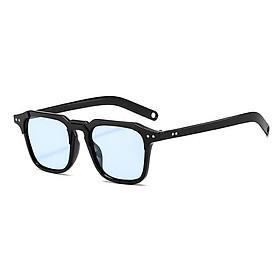 Kính thời trang nam nữ , Mắt kính đen , kính gọng vuông chống uv400 K341 thu_sam_shop