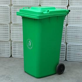 Hình ảnh Thùng rác nhựa công nghiệp 120 lít