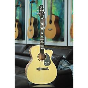 Đàn Guitar Acoustic NG N1 GLOSSY -Tích hợp sẵn EQ biểu diễn