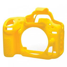 Bao Silicon bảo vệ máy ảnh cover cho Canon 6D Mark II vàng
