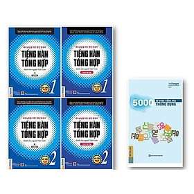 BỘ GIÁO TRÌNH TIẾNG HÀN TỔNG HỢP SƠ CẤP 1&2 – ĐEN TRẮNG và 5000 TỪ VỰNG TIẾNG HÀN THÔNG DỤNG kt