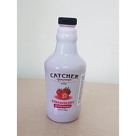 Sốt dâu - Catcher gourmet Trawberry fruity sauce 1.3kg