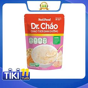 Cháo tươi dinh dưỡng Dr.Cháo gói 240g - Tổ yến cá hồi hạt sen