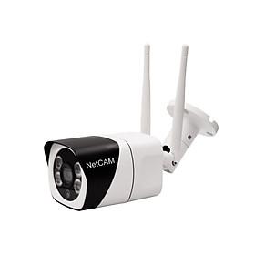 Camera IP Wifi Ngoài Trời NetCAM NTL 2.0 Full HD 1080P - Hàng Chính Hãng