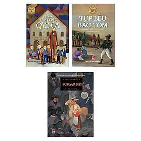 Combo Sách Văn Học Nước Ngoài Hay Nhất: Những Tấm Lòng Cao Cả + Túp Lều Bác Tôm + Trong Gia Đình