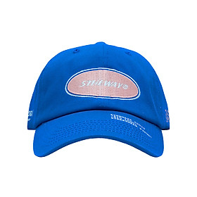 Nón Lưỡi Trai 5THEWAY Xanh Dương aka 5THEWAY /oval/ Unstructure Washed Dad Cap in DIRECTOIRE BLUE