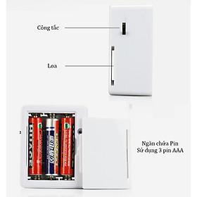 Báo động cảm biến hồng ngoại mini ( Tặng 01 báo động gắn cửa ) - Dùng cho nhà, cửa hàng, khách sạn