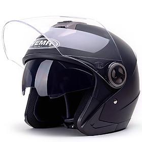 Nón bảo hiểm 2 kính 3/4 YEMA 623