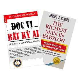 Combo Đọc Vị Bất Kỳ Ai + Người Giàu Có Nhất Thành Babylon (2 cuốn)