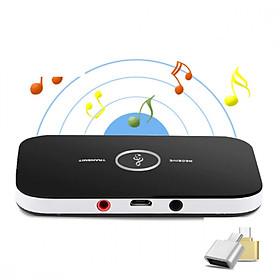 Thiết bị thu phát nhạc không dây Bluetooth BLT-6 Tặng kèm đầu OTG Micro usb sang Usb