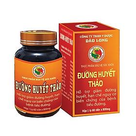 Viên uống Đường Huyết Thảo y dược Bảo Long - Giảm đường huyết, hạn chế nguy cơ biến chứng tiểu đường - Hàng Chính Hãng