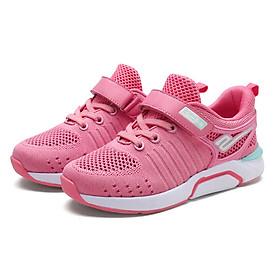 Giày thể thao cho bé gái 3 - 12 tuổi phong cách Hàn Quốc đế Eva siêu nhẹ chất mềm thoáng khí GE37