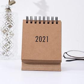 Lịch 2021 Simple Style ( Kèm Sticker Tròn Đánh Dấu Marker)