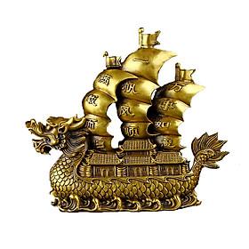 Tượng thuyền buồm Thuận Buồm Xuôi Gió bằng đồng thau