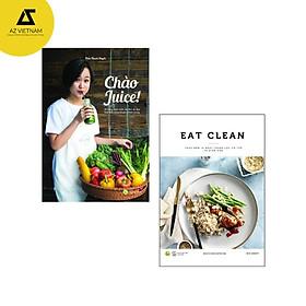 Sách - Combo Eat Clean + Chào Juice