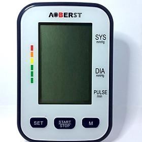 Máy đo huyết áp bắp tay AOBERST màn hình LCD cỡ lớn công nghệ mới nhất