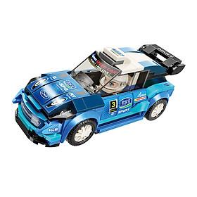 Đồ chơi lắp ráp Xe đua tốc độ Rhythm WRC-36 Qman 4201-3 (168 chi tiết)