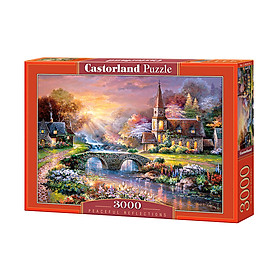C300419 Đồ chơi ghép hình puzzle Peaceful reflections 3000 mảnh Castorland