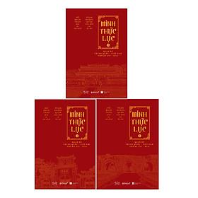 Minh Thực Lục ( Trọn Bộ 3 Tập )