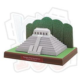 Mô hình giấy kiến trúc Temple of the Inscriptions - Mexico