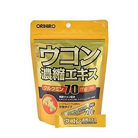 Bột nghệ giải độc gan, chống say Orihiro Nhật Bản(20 Gói)
